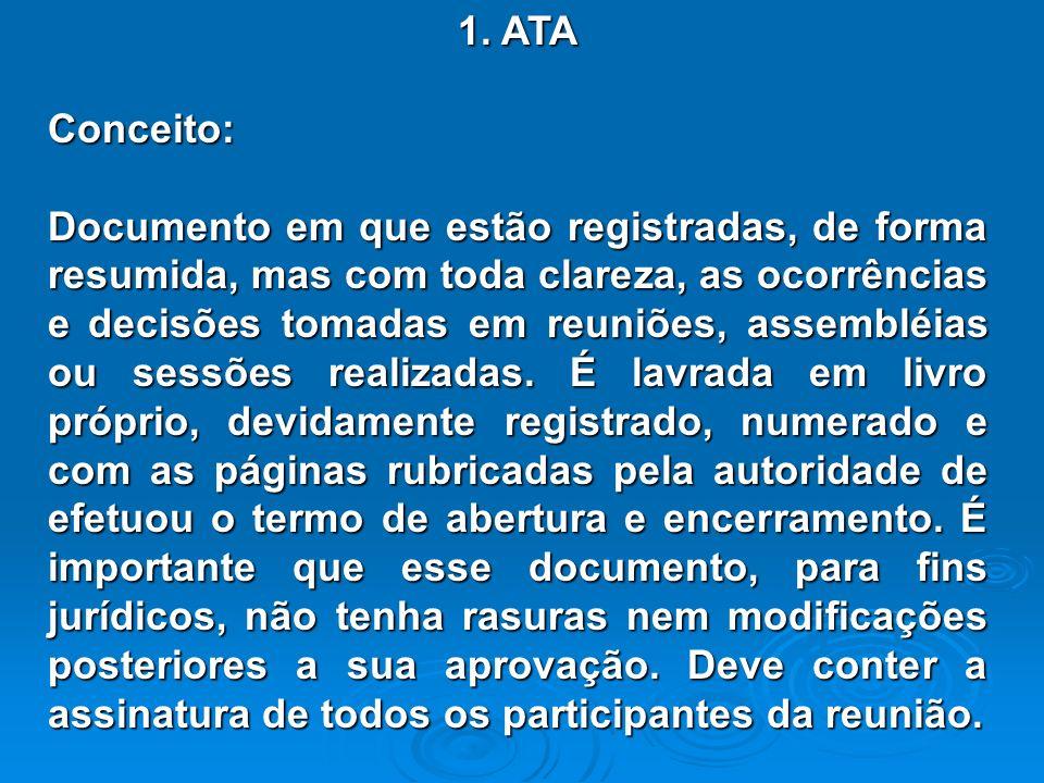 1. ATA Conceito: