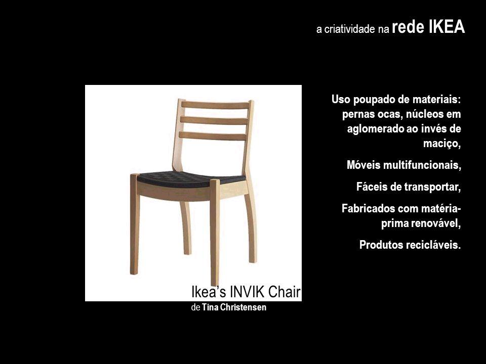 Ikea's INVIK Chair a criatividade na rede IKEA