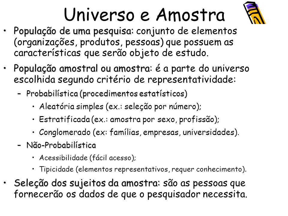 Universo e Amostra