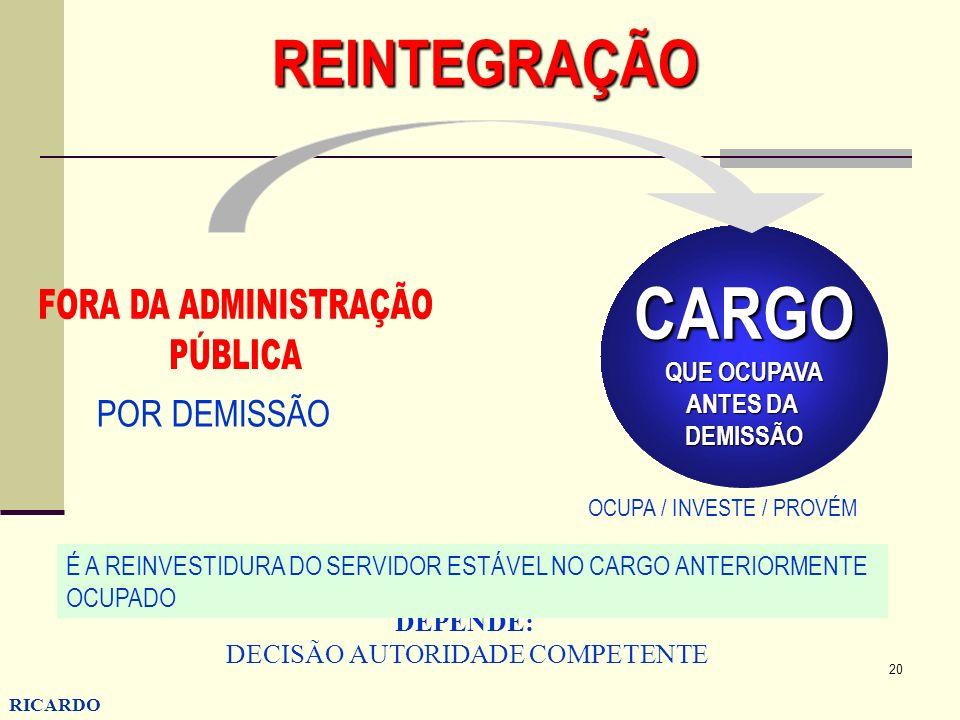 DECISÃO AUTORIDADE COMPETENTE