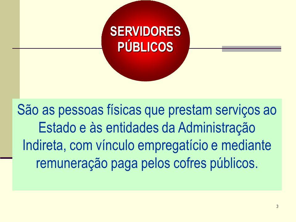 SERVIDORES PÚBLICOS.