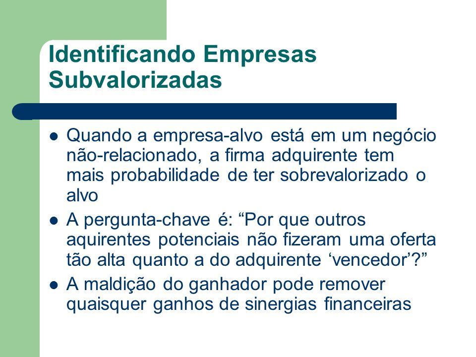 Identificando Empresas Subvalorizadas