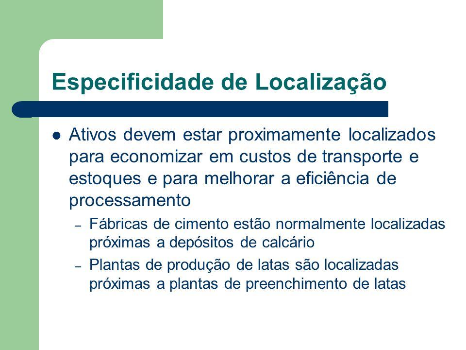 Especificidade de Localização