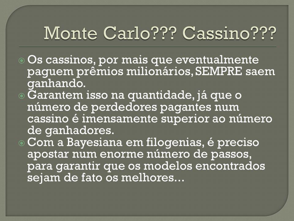 Monte Carlo Cassino Os cassinos, por mais que eventualmente paguem prêmios milionários, SEMPRE saem ganhando.