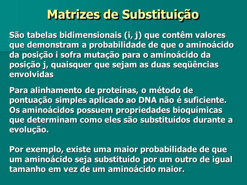 Matrizes de Substituição