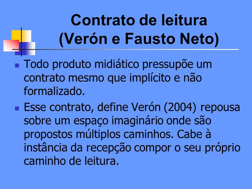 Contrato de leitura (Verón e Fausto Neto)