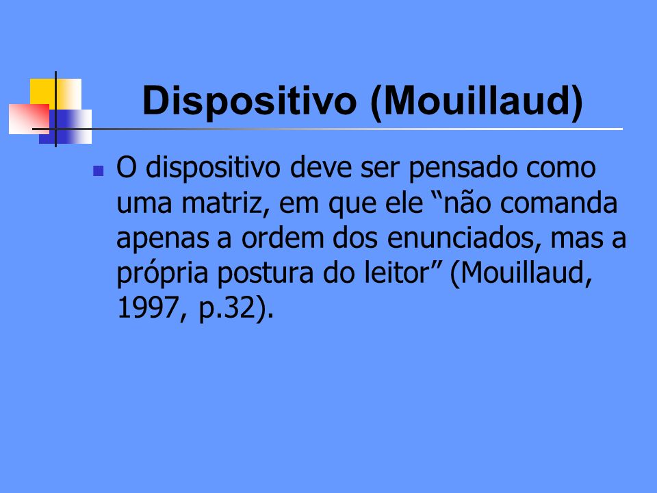 Dispositivo (Mouillaud)