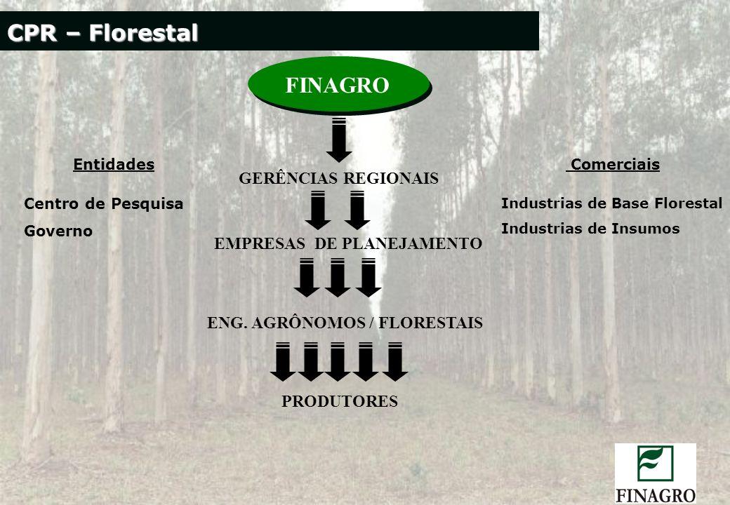 EMPRESAS DE PLANEJAMENTO ENG. AGRÔNOMOS / FLORESTAIS