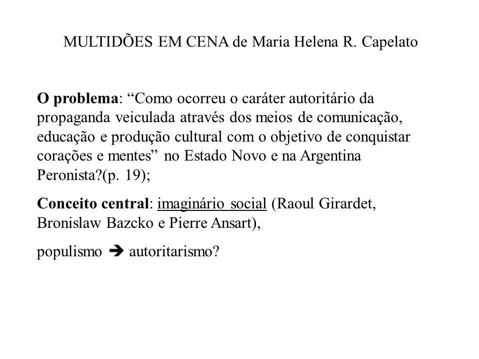 MULTIDÕES EM CENA de Maria Helena R. Capelato