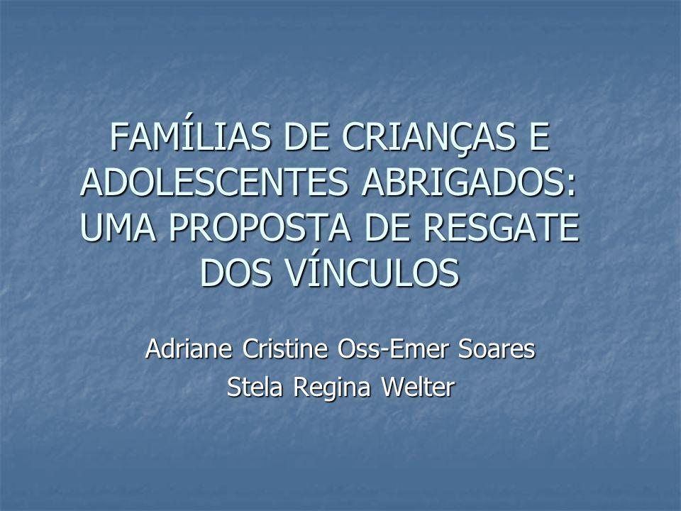 Adriane Cristine Oss-Emer Soares Stela Regina Welter
