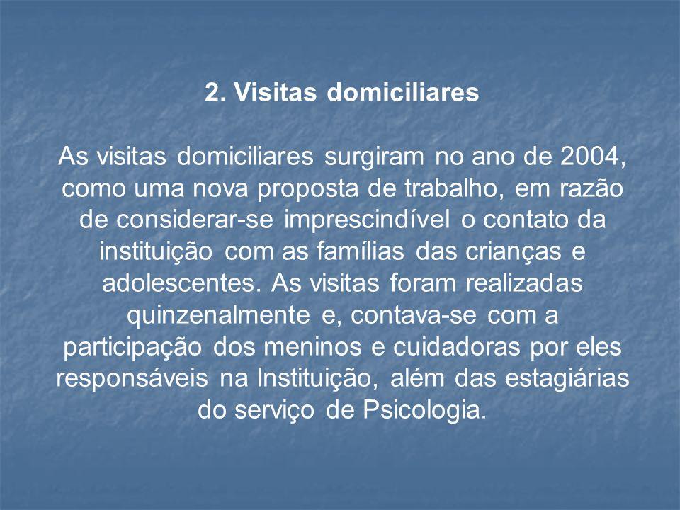2. Visitas domiciliares