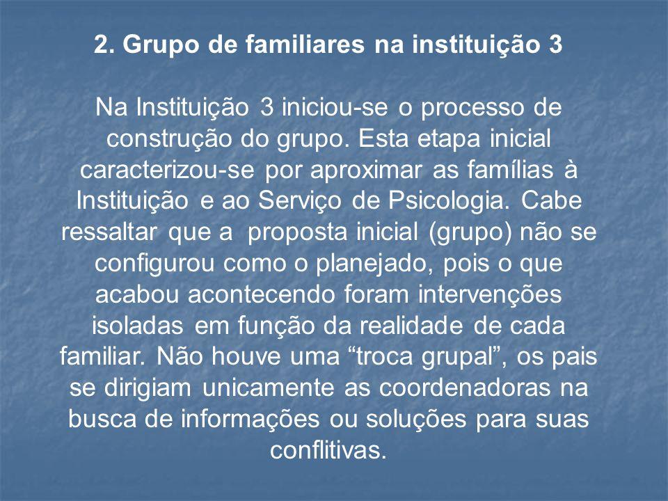2. Grupo de familiares na instituição 3