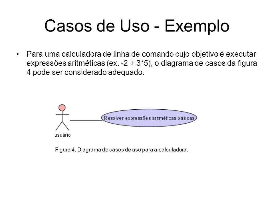 Casos de Uso - Exemplo