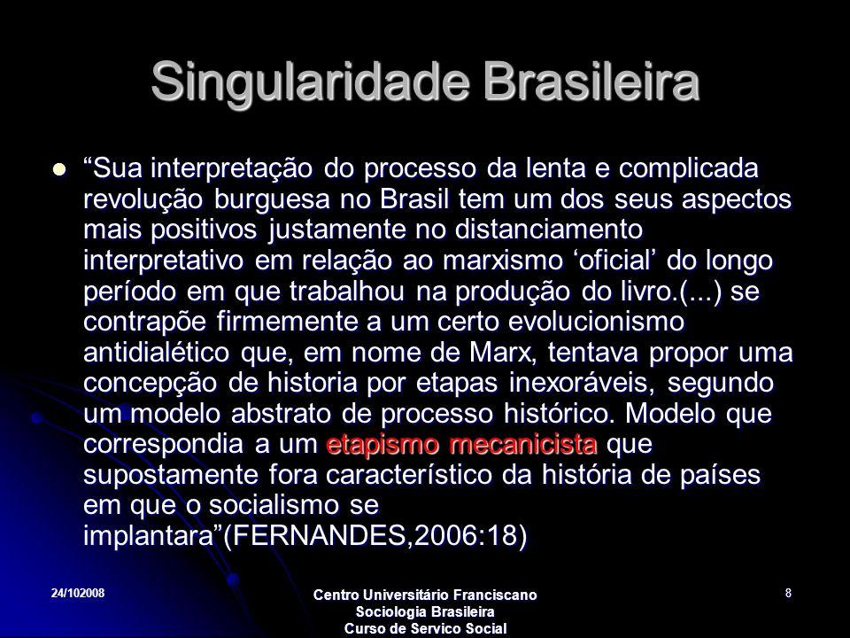 Singularidade Brasileira