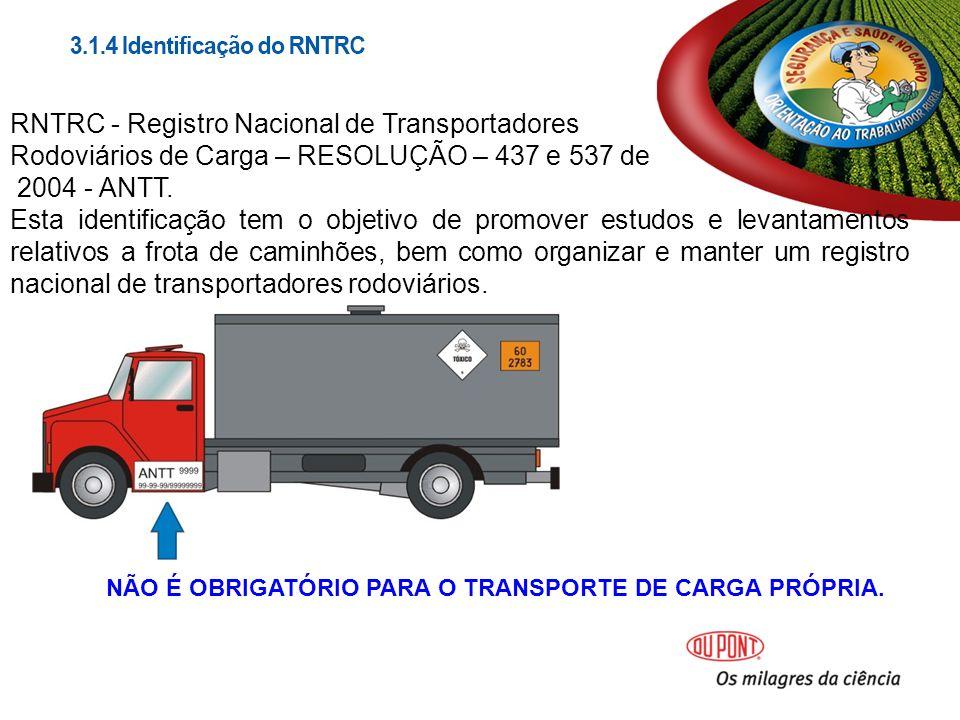 RNTRC - Registro Nacional de Transportadores