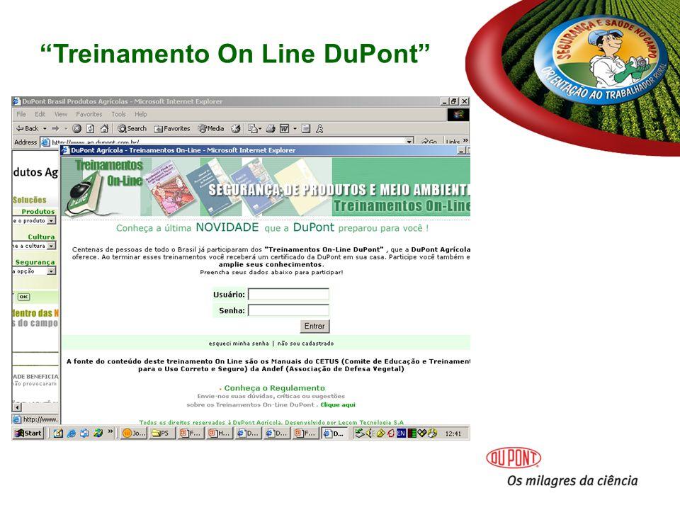 Treinamento On Line DuPont