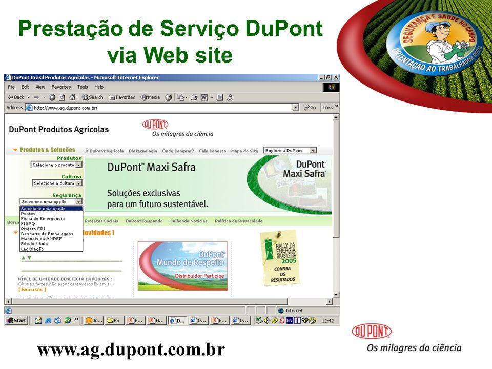 Prestação de Serviço DuPont