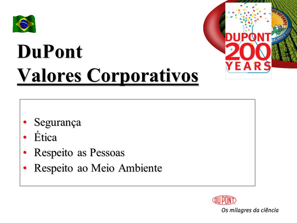 DuPont Valores Corporativos