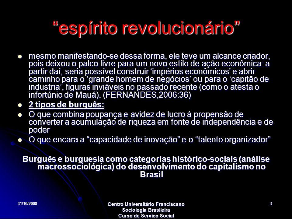 espírito revolucionário