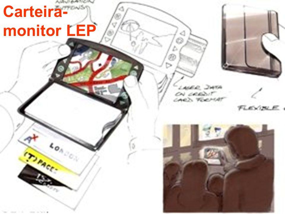 Carteira-monitor LEP
