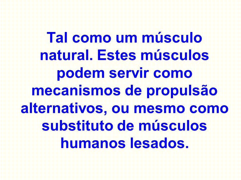Tal como um músculo natural