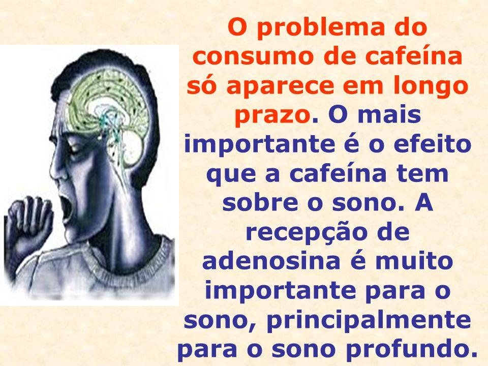 O problema do consumo de cafeína só aparece em longo prazo