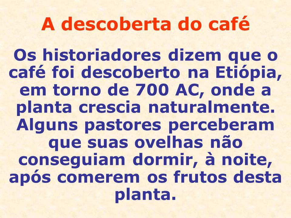 A descoberta do café