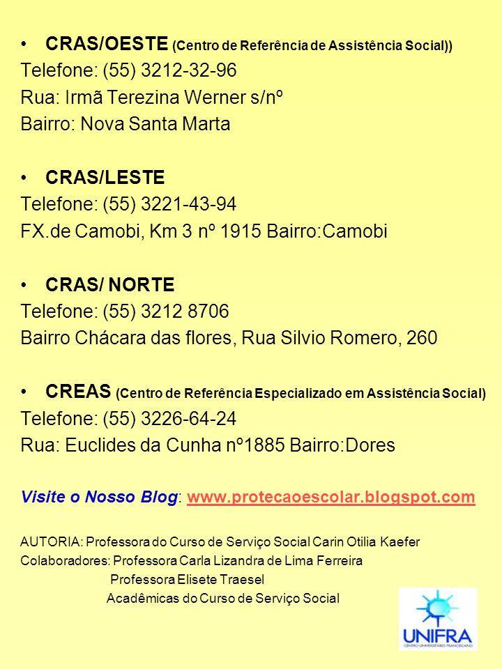 CRAS/OESTE (Centro de Referência de Assistência Social))