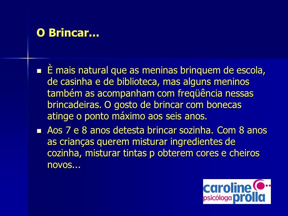 O Brincar...