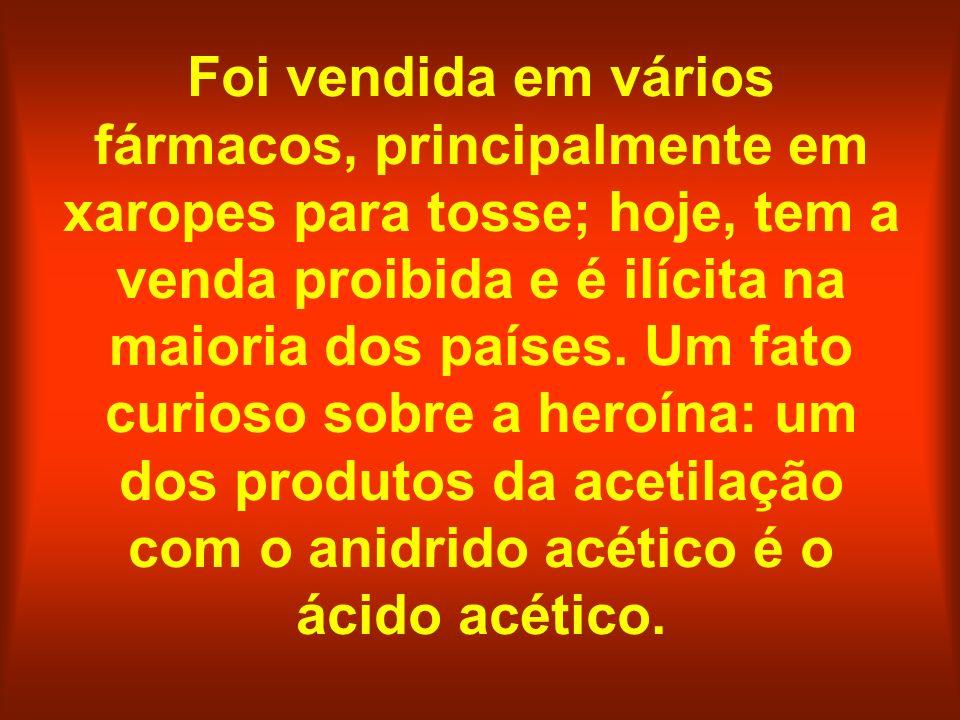 Foi vendida em vários fármacos, principalmente em xaropes para tosse; hoje, tem a venda proibida e é ilícita na maioria dos países.