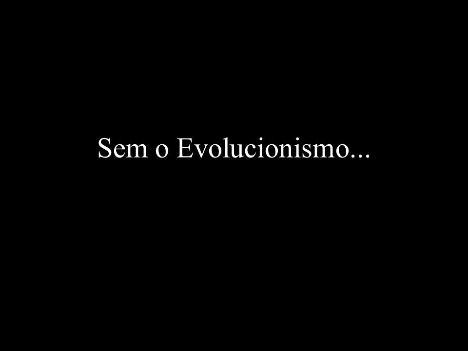 Sem o Evolucionismo...