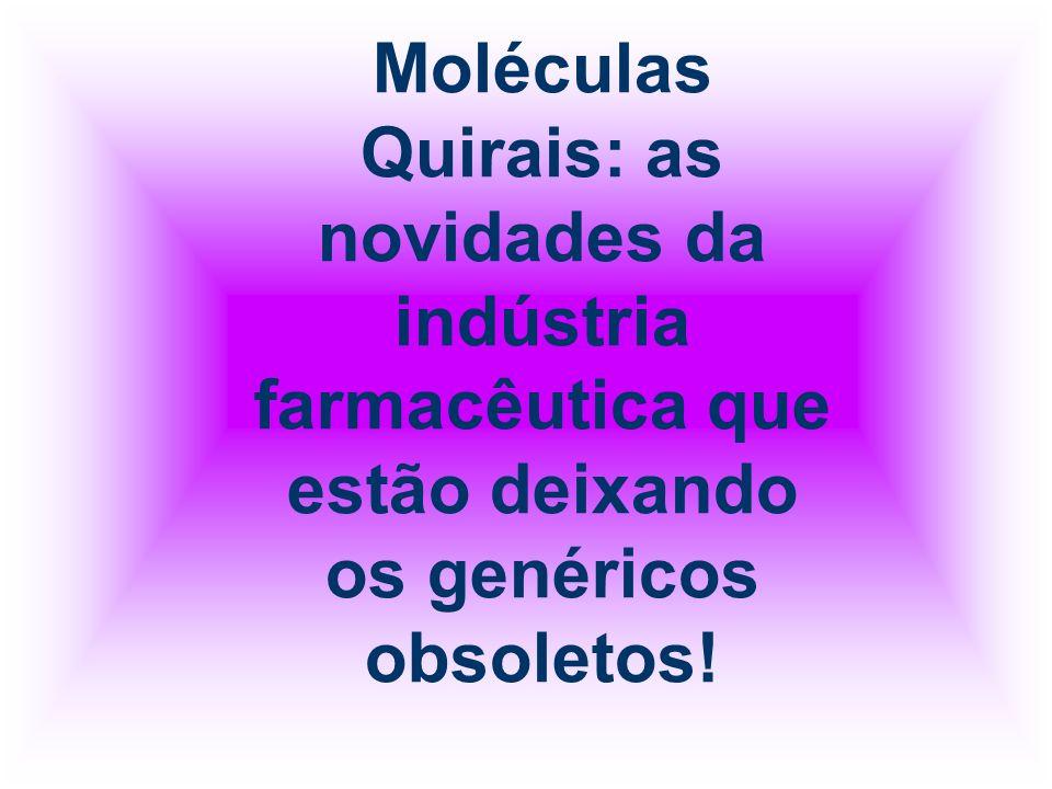 Moléculas Quirais: as novidades da indústria farmacêutica que estão deixando os genéricos obsoletos!