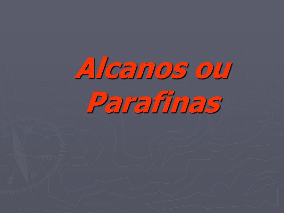Alcanos ou Parafinas