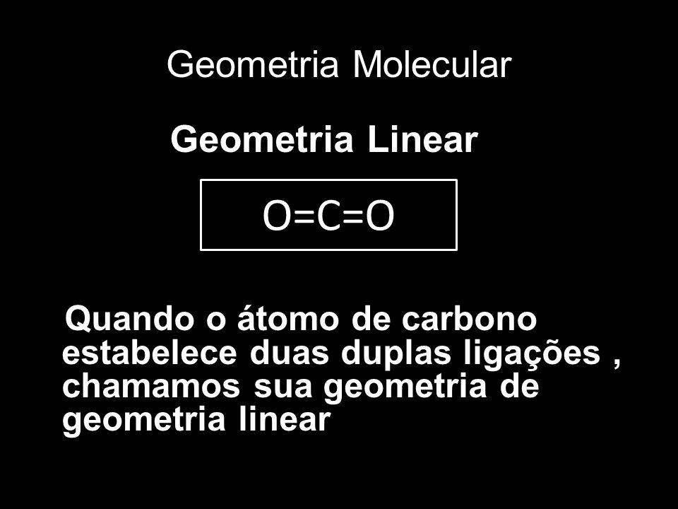 O=C=O Geometria Molecular