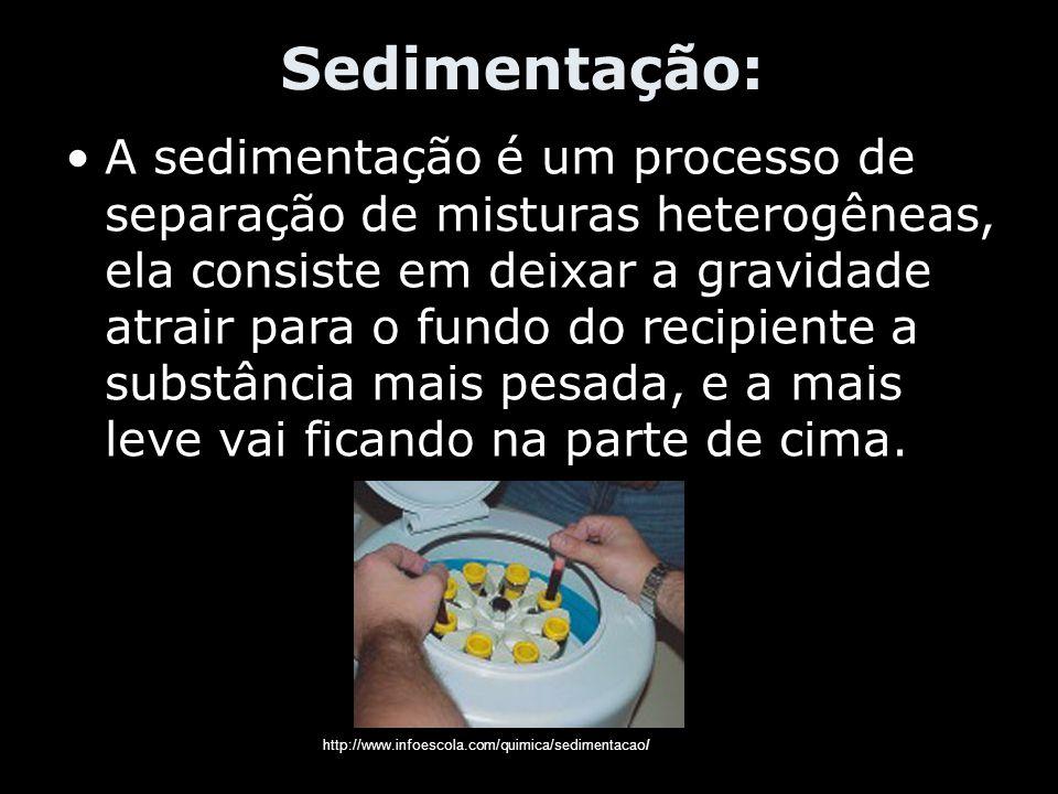 Sedimentação: