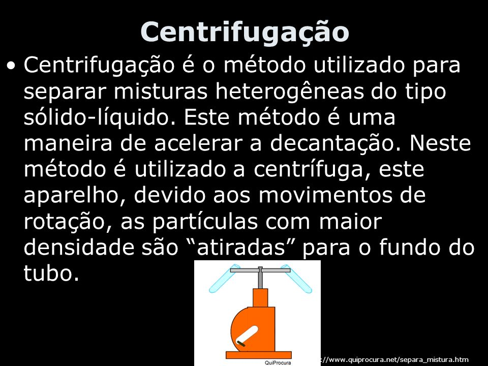 Centrifugação