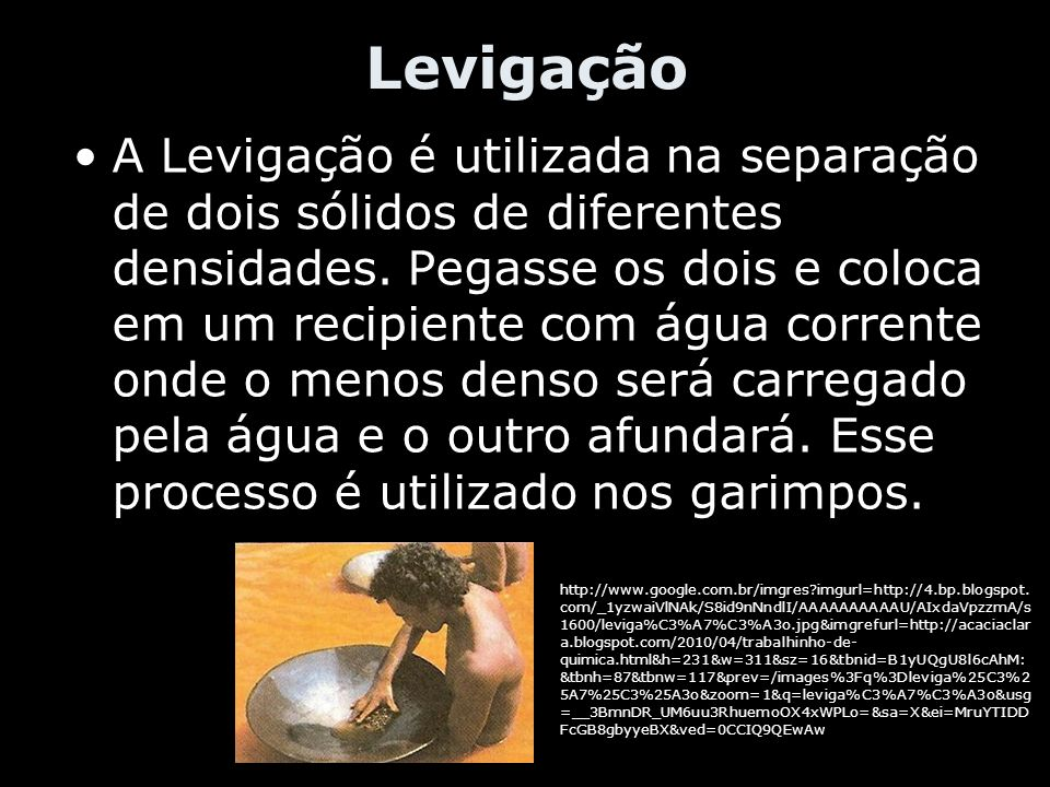 Levigação