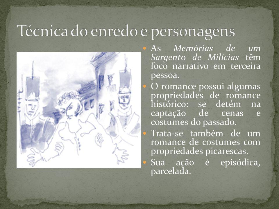 Técnica do enredo e personagens