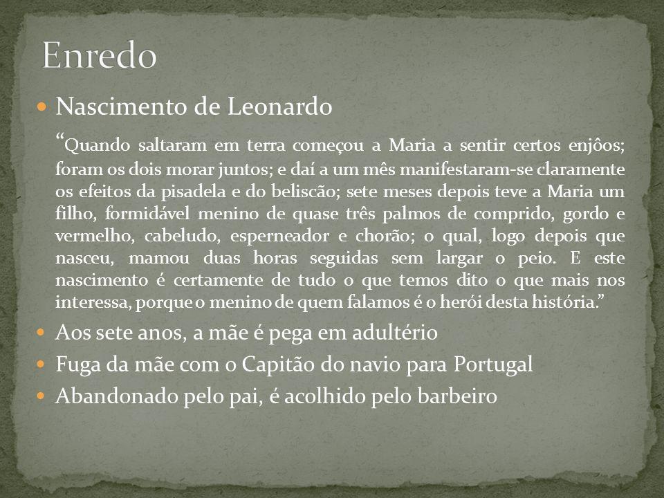 Enredo Nascimento de Leonardo