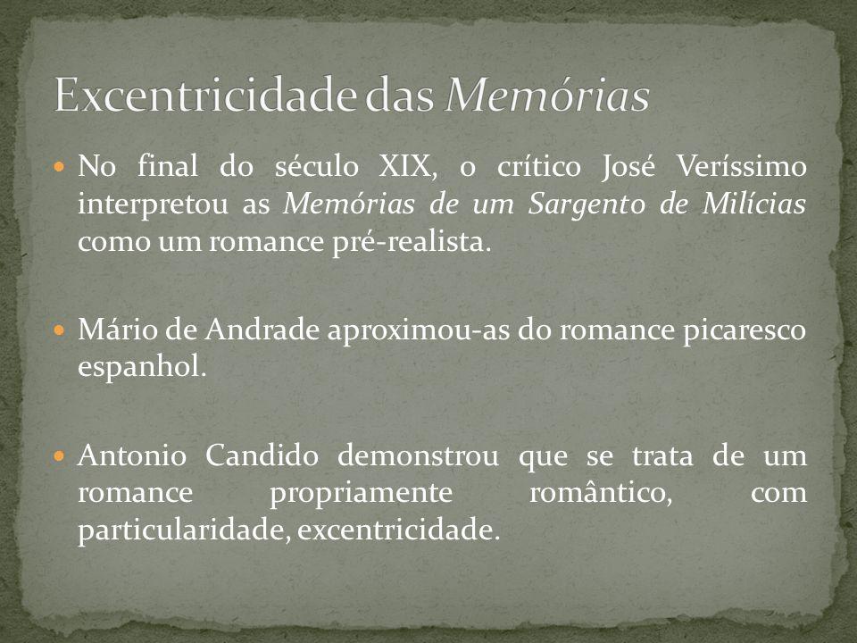 Excentricidade das Memórias