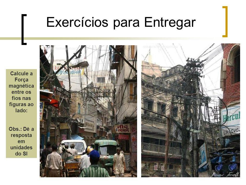 Exercícios para Entregar