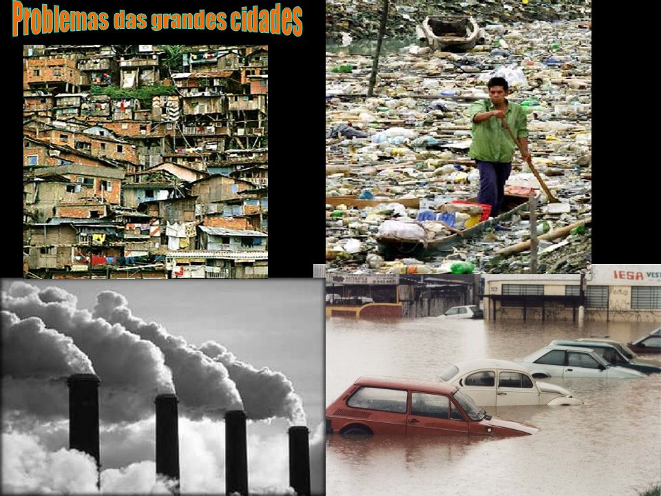 Problemas das grandes cidades