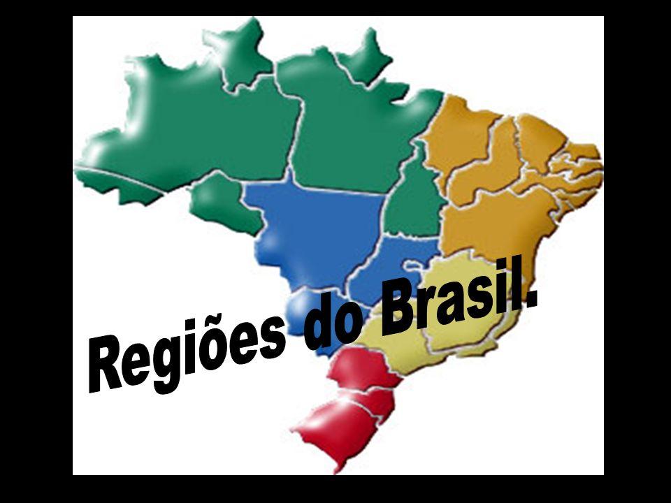 Regiões do Brasil.