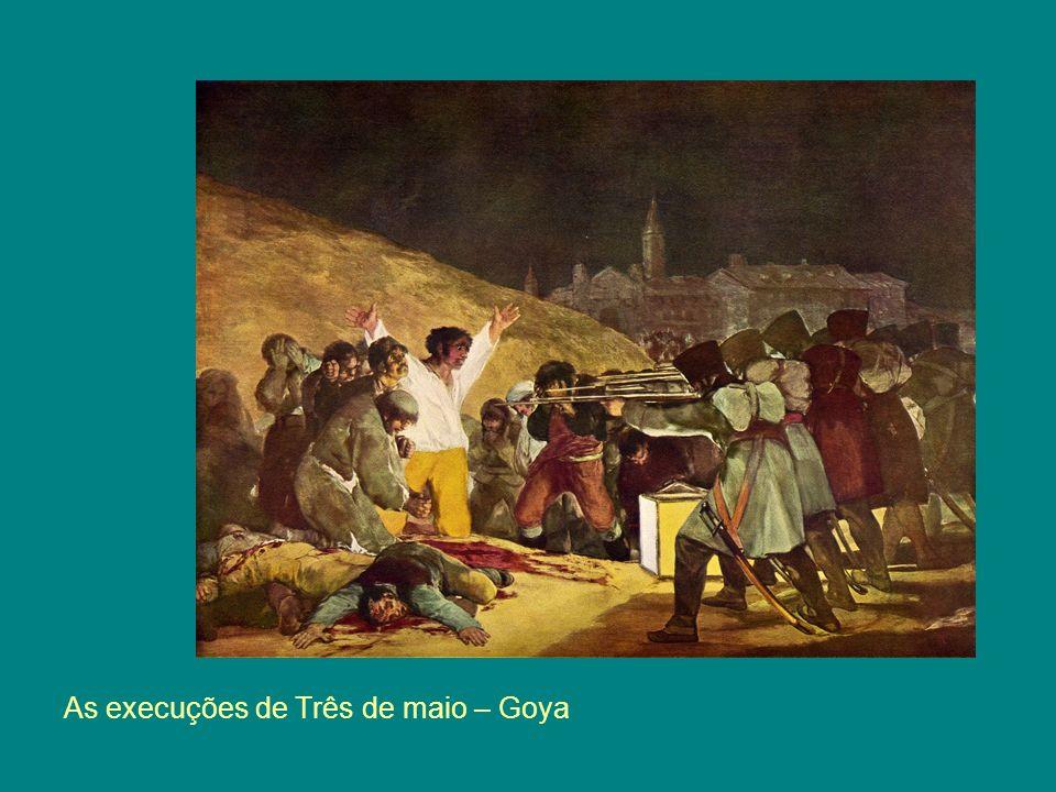 As execuções de Três de maio – Goya