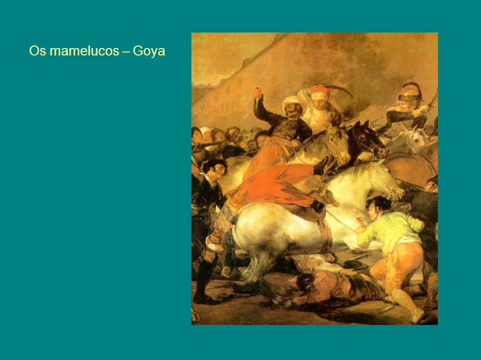 Os mamelucos – Goya