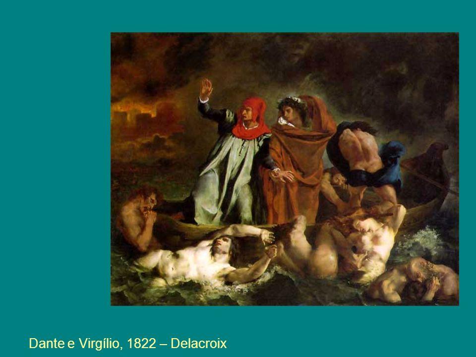 Dante e Virgílio, 1822 – Delacroix