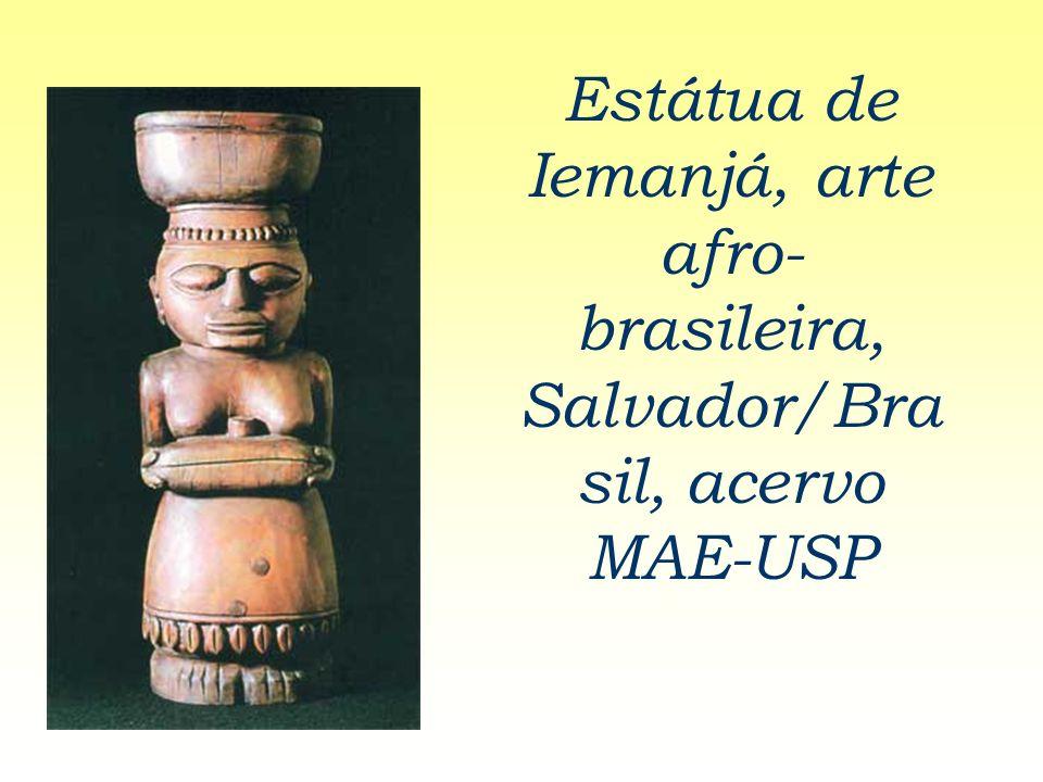Estátua de Iemanjá, arte afro-brasileira, Salvador/Brasil, acervo MAE-USP