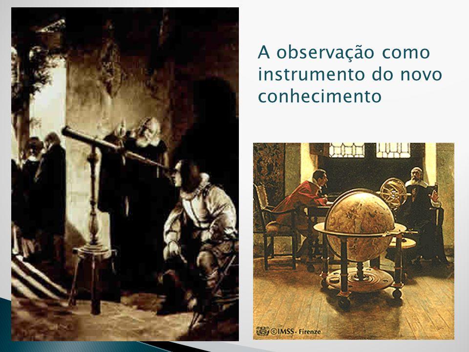 A observação como instrumento do novo conhecimento