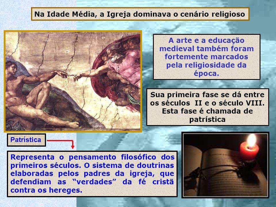 Na Idade Média, a Igreja dominava o cenário religioso