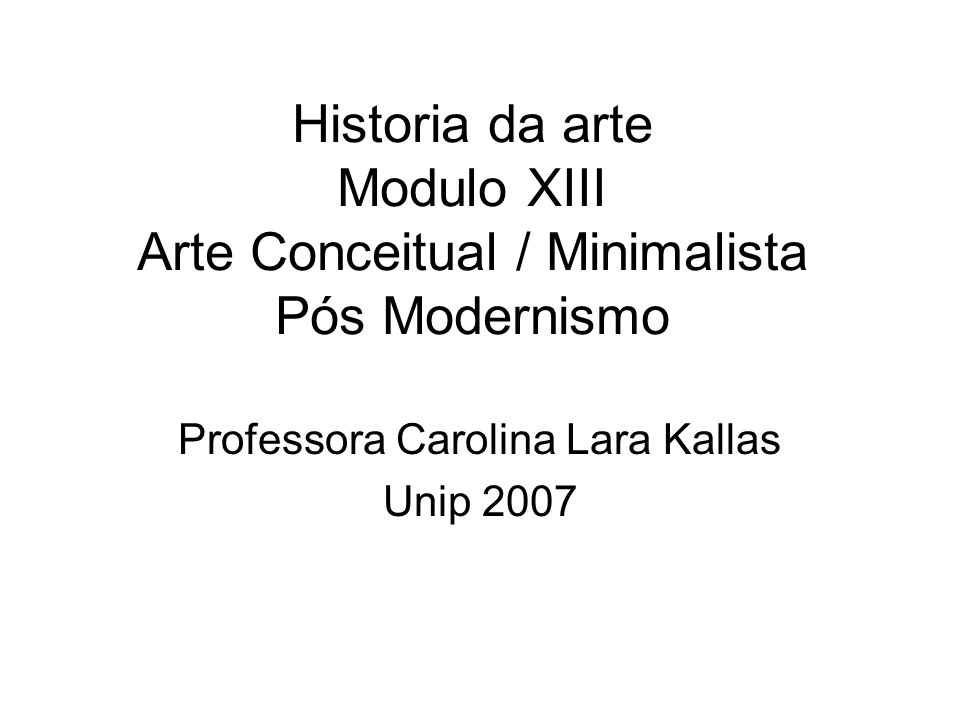 Professora Carolina Lara Kallas Unip 2007